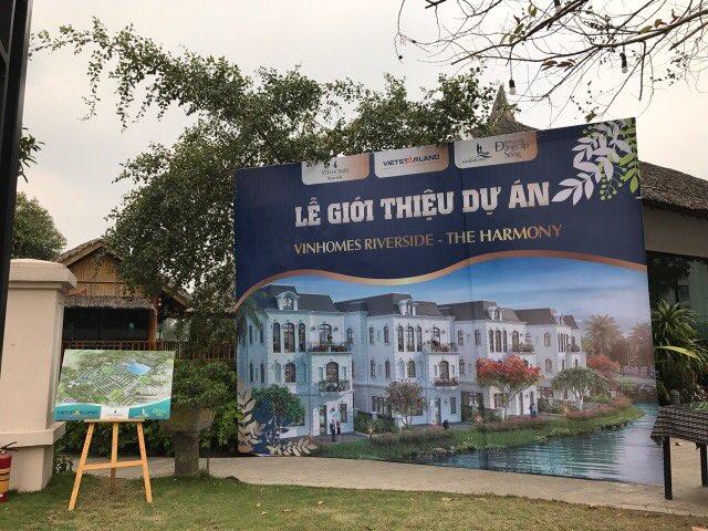 Vietstarland giới thiệu dự án Vinhomes Riverside The Harmony