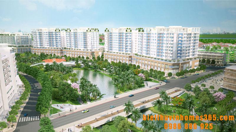 Dự án nhà ở chung cư VinCity Gia Lâm Long Biên