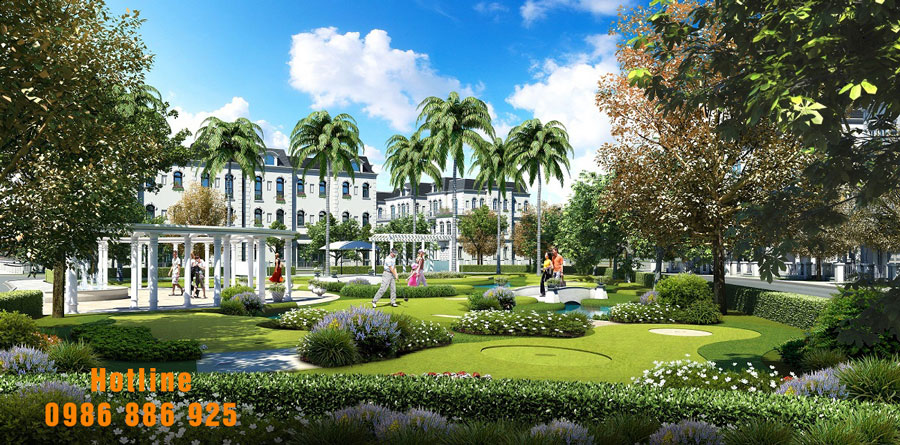 Nhà vườn Vinhomes Riverside giai đoạn 2: lưa chọn sống xanh mới