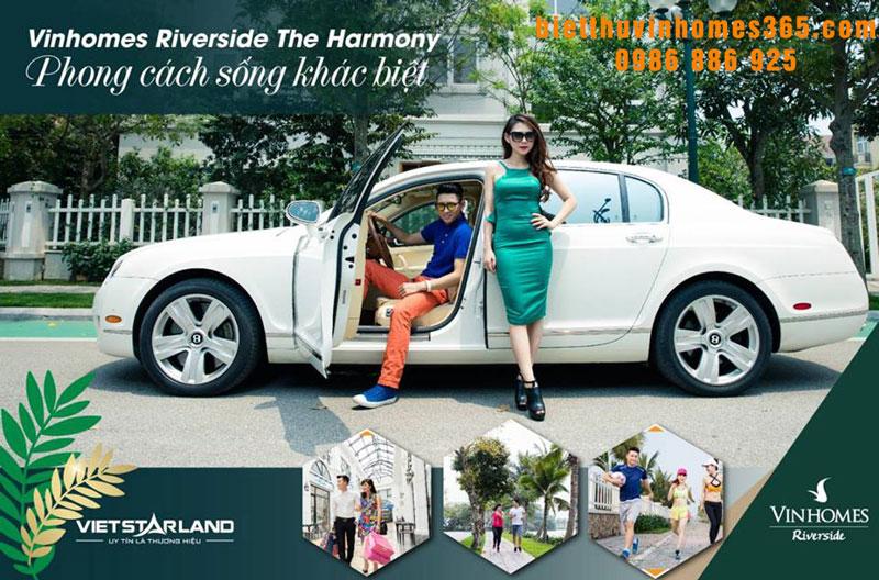 Vinhomes Riverside giai đoạn 2 The Harmony: nơi cho bạn đam mê
