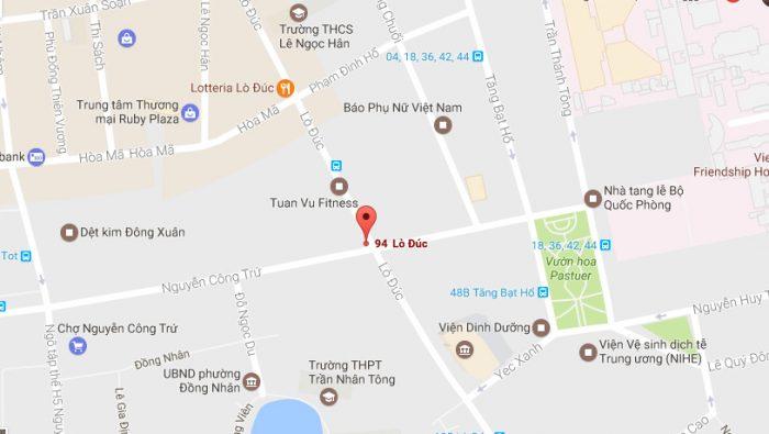 Thông tin về dự án Vinhomes Lò Đúc 94 Lò Đúc- HBT - Hà Nội