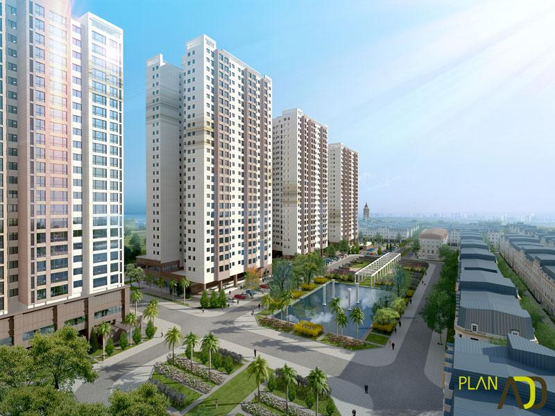 Dự án chung cư The K Park Văn Phú Hà Đông