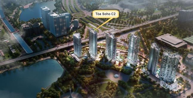 Tiềm năng đầu tư căn hộ Soho Vinhomes Trần Duy Hưng D' Capitale