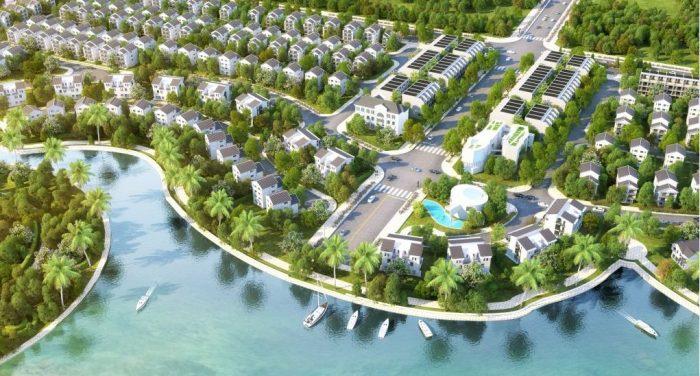 Biệt thự liền kề view hồ Vinhome Riverside The Harmony