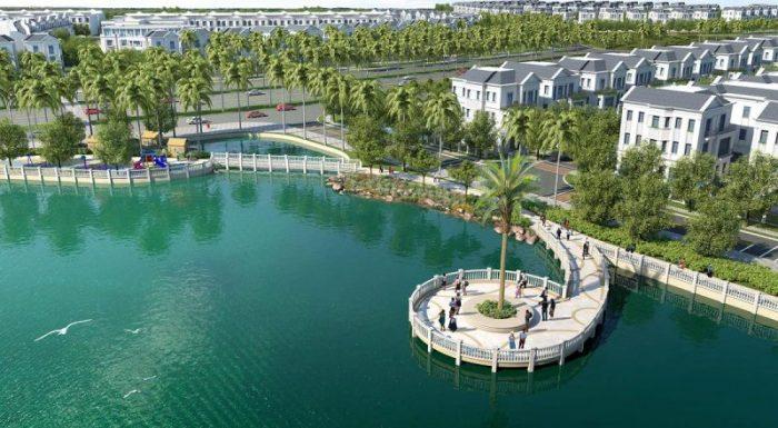 Biệt thự Nguyệt Quế view hồ Vinhomes Riverside The Harmony