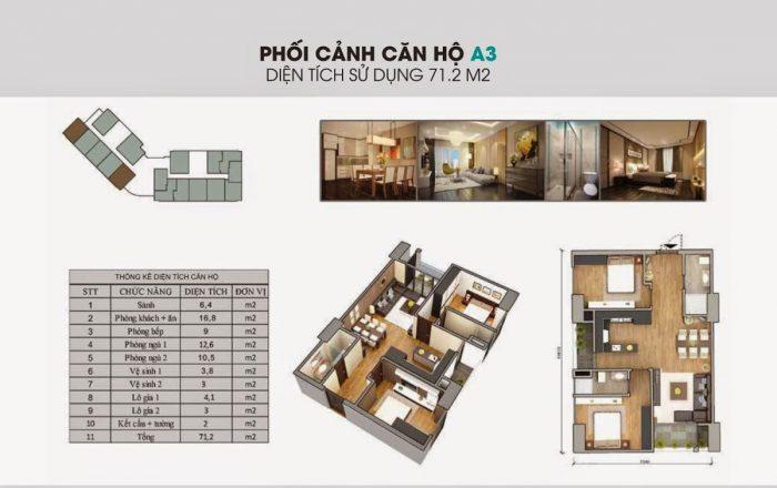 Dự án Chung cư The Garden Hill 99 Trần Bình