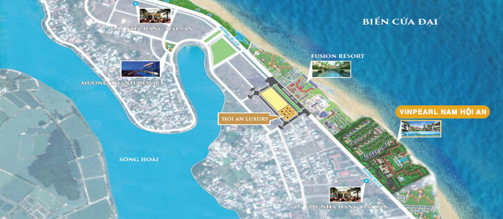 Thông tin dự án Vinpearl Condotel Nam Hội An Villas