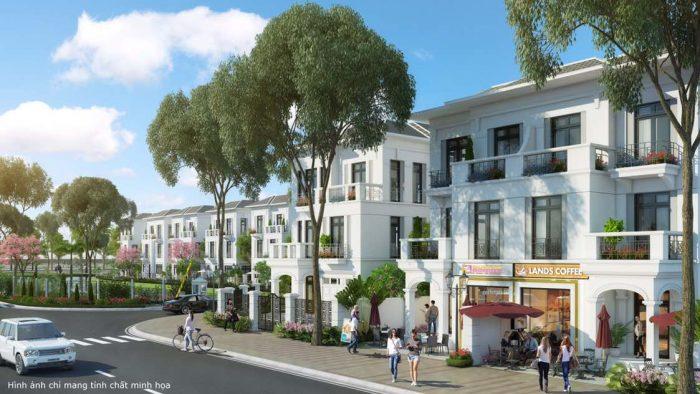 Nhà phố Tulip Vinhomes Riverside giai đoạn 2 ưu việt, đa chức năng