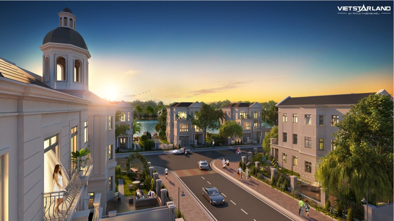 Một thoáng tiểu khu Nguyệt Quế Vinhomes Riverside giai đoạn 2