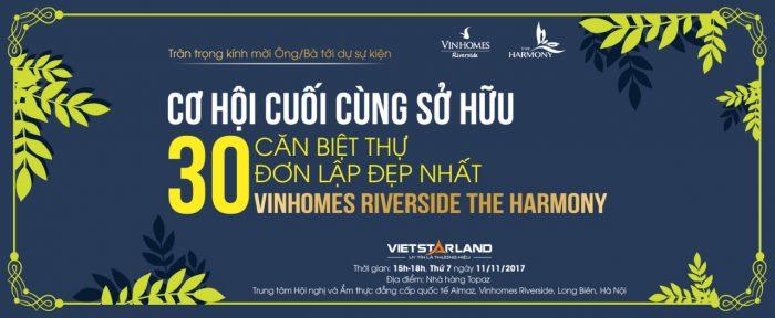 Cơ hội cuối để sở hữu đơn lập Vinhomes Riverside giai đoạn 2