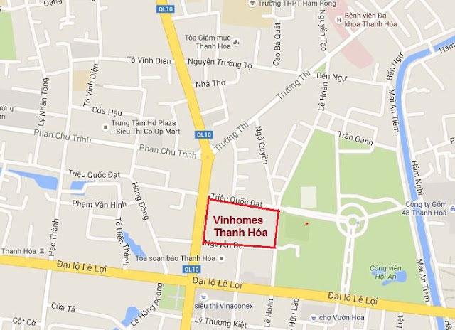 Dự án Vinhomes Thanh Hóa - Vinhomes Aqua Villas
