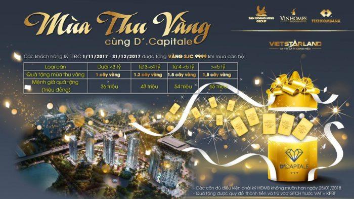 Mùa thu vàng cùng dự án D'.Capitale Trần Duy Hưng