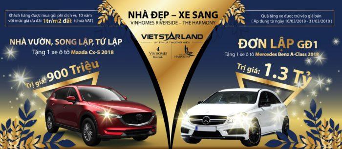 chinh-sach-ban-hang-vinhomes-riverside-giai-doan-2-tang-xe-mercedes Benz
