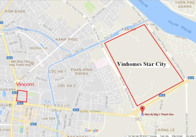 THÔNG TIN DỰ ÁN BIỆT THỰ VINHOMES STAR CITY THANH HÓA