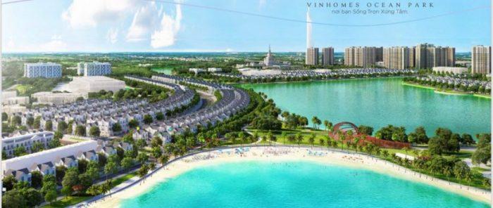 Khu đô thị Vinhomes Ocean Park được xây dựng đã trở thành nhân tố tạo sức hút đầu tư mạnh mẽ vào khu vực này.